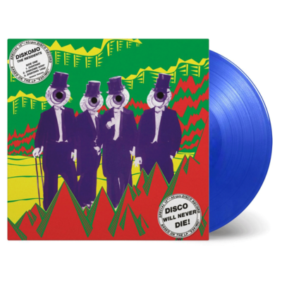 The Residents: Diskomo/Goosebump EP: Transparent Blue Numbered Vinyl