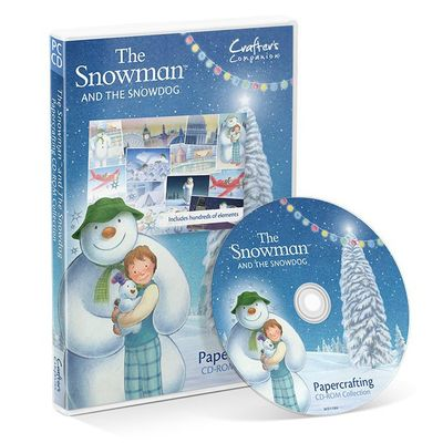 The Snowman: Crafters Companion The Snowman and Snowdog (CD-ROM)
