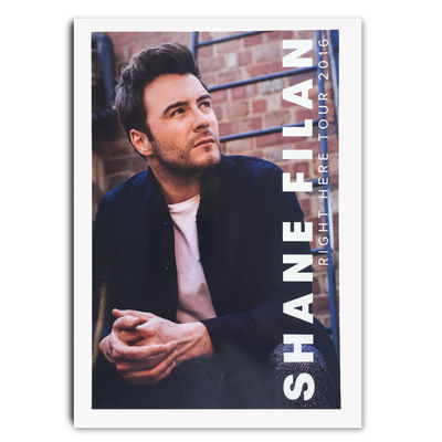 Shane Filan: Shane Filan Right Here Tour Programme