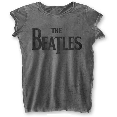 The Beatles: Drop T Womens Burnout T-Shirt