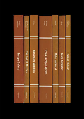 Kraftwerk: 'Trans-Europe Express' Album As Books Art Print