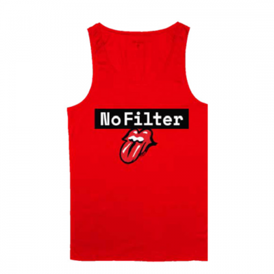 The Rolling Stones: No Filter Red Tank Top