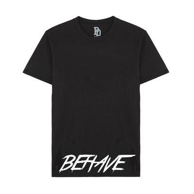 I Play Dirty: BEHAVE Black T-shirt