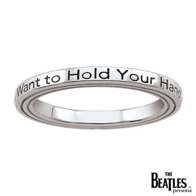 The Beatles: 925 Beatles I Want To Hold Your Hand Ring
