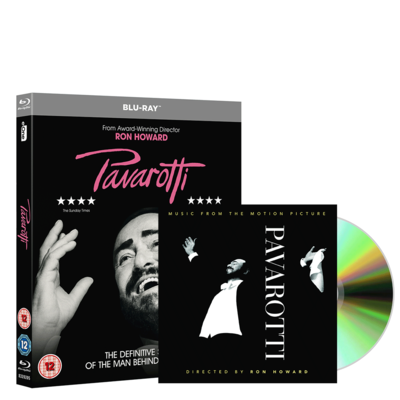 Luciano Pavarotti: Pavarotti Motion Picture (BLURAY & CD) Bundle
