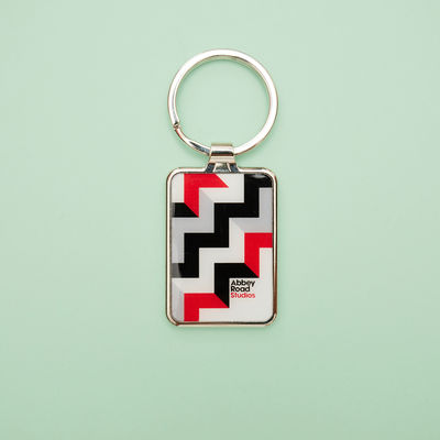 Abbey Road Studios: Abbey Road Geometrics Keyring