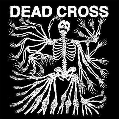 Dead Cross: Dead Cross: Clear Red Black Swirl Vinyl