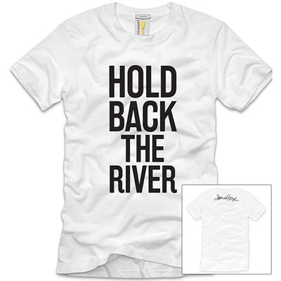 james bay: James Bay Hold Back The River White T-Shirt