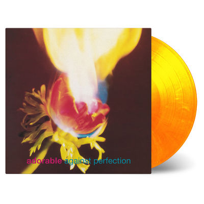 Adorable: Against Perfection: Flaming Orange & Yellow Numbered Vinyl