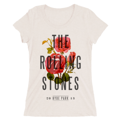 The Rolling Stones: Hyde Park 2013 Ladies Fit T-shirt