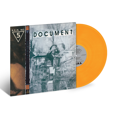 R.E.M.: Document (LIMITED EDITION - Orange Vinyl)