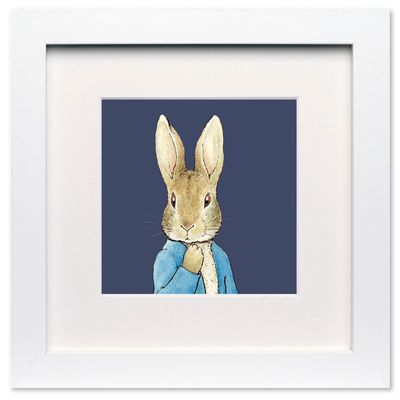 Peter Rabbit: Peter Rabbit Navy - Mini Print