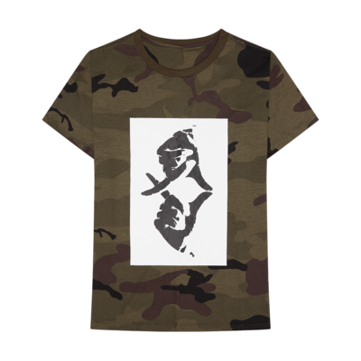 The Weeknd: XO Hand Logo Camo Tee