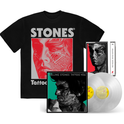 The Rolling Stones: TATTOO YOU: MUSIC + BLACK TEE BUNDLE