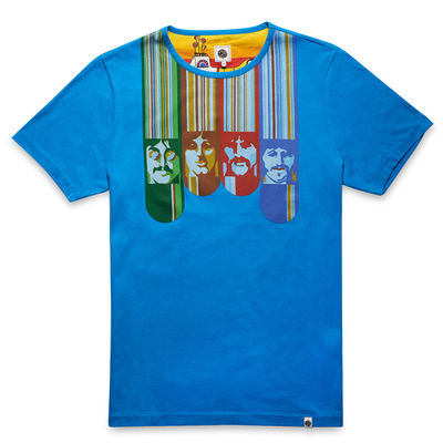 The Beatles: Yellow Submarine Face Print T-Shirt