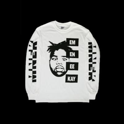MNEK: MNEK Face Longsleeve T-Shirt