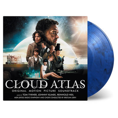 Original Soundtrack: Cloud Atlas: Blue & Black Swirled Double Vinyl