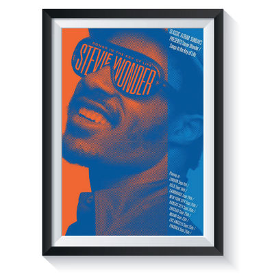 Stevie Wonder: Songs in the Key of Life: Classic Album Sundays Screen Print