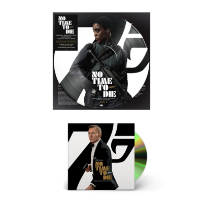 Hans Zimmer: No Time to Die CD & Picture Disc Bundle