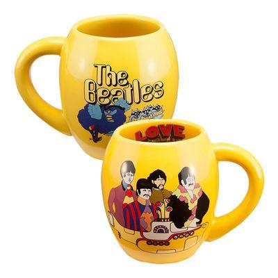 The Beatles: Yellow Submarine 18 oz. Oval Ceramic Mug