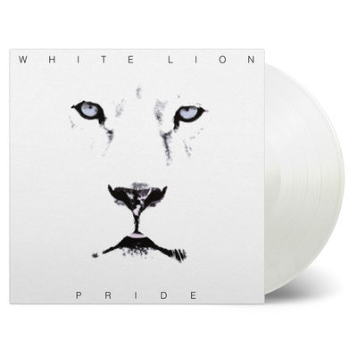 White Lion: Pride: Limited Edition White Vinyl