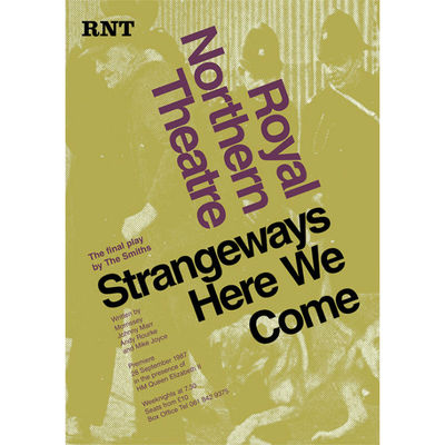 The Smiths: 'Strangeways Here We Come' Theatre Poster Print: The Plays of Morrissey and Marr