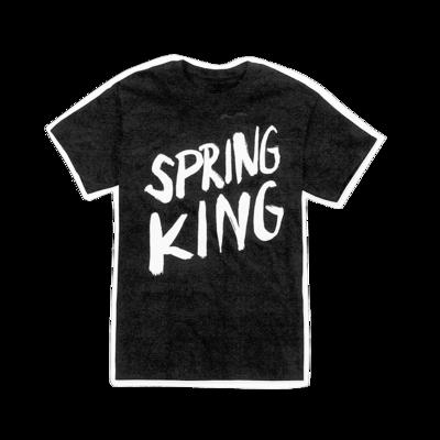 Spring King: Logo T-shirt (Black)