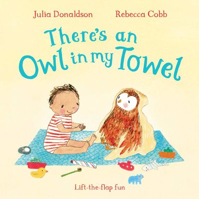 Julia Donaldson: There's an Owl in my Towel (Board Book)