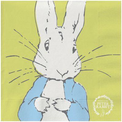 Peter Rabbit: Peter Rabbit Contemporary Napkin (Line-Art Peter)