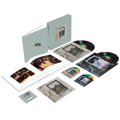 Led Zeppelin: Led Zeppelin IV: Super Deluxe Edition CD + Vinyl Box