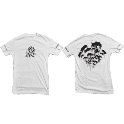 Jazz Cartier: Fleurever White Tee