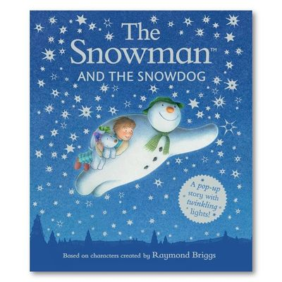 The Snowman: The Snowman and the Snowdog Pop-up Picture Book (Hardback)
