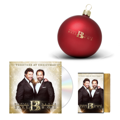 Michael Ball & Alfie Boe: Together At Christmas Signed Christmas Bundle