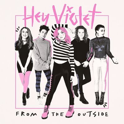 Hey Violet: Signed Lithograph