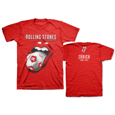 The Rolling Stones: Zurich World Cup Limited Edition Event T-Shirt