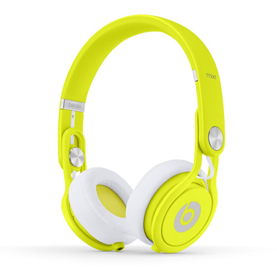 Beats: Mixr On-Ear Headphones - Neon Yellow