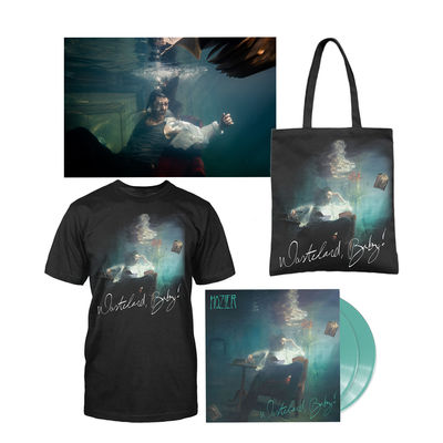hozier: WASTELAND, BABY! COLOURED LP, TOTE, TEE & POSTER