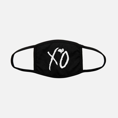 The Weeknd: XO CLASSIC LOGO CLOTH FACE COVERING