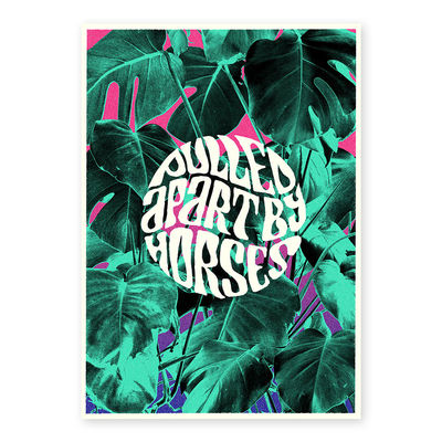 Pulled Apart By Horses: A3 Lithograph Print