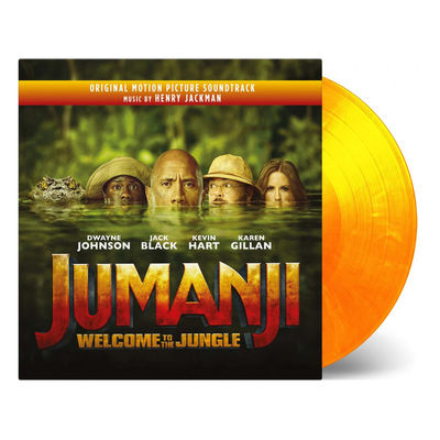 Henry Jackman: Jumanji: Welcome To The Jungle Original Soundtrack (Flaming Coloured Vinyl)