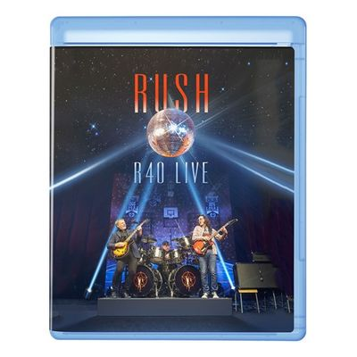 Rush: R40 Live 3CD + 1Blu-Ray