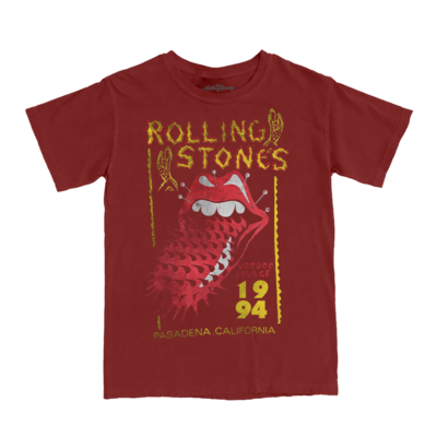 The Rolling Stones: 94 Voodoo Yellow T-Shirt