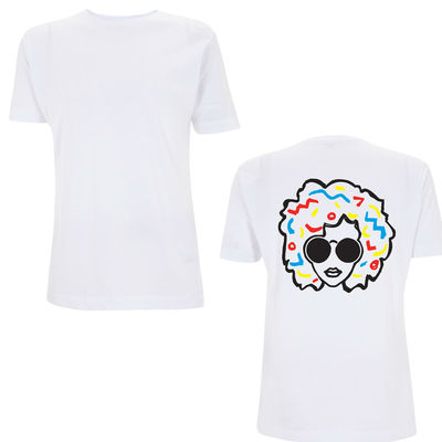 Annie Mac: AMP 2015 White Logo T-Shirt