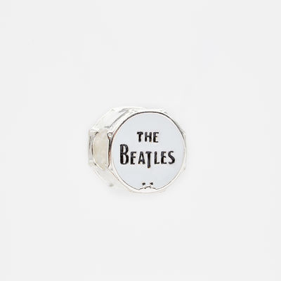 Abbey Road Studios: The Beatles Drum Sterling Silver Charm Bead