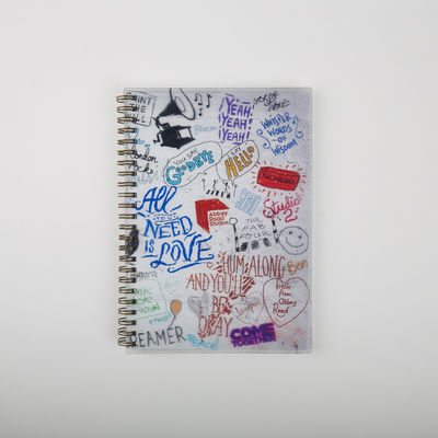 Abbey Road Studios: A5 Wiro Notebook The Beatles Graffiti