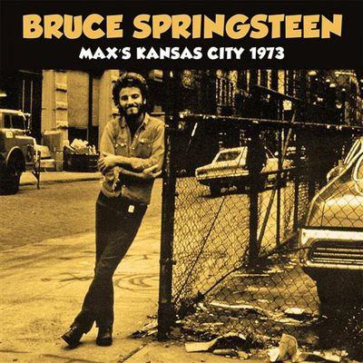 Bruce Springsteen: Max's Kansas City 1973: Limited Edition White Vinyl