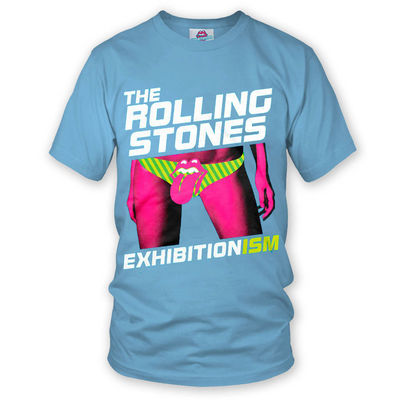 The Rolling Stones: Exhibitionism T-Shirt Blue