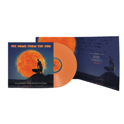 Cerys Matthews: We Come From The Sun: Orange Vinyl