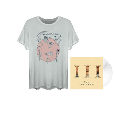 The Lumineers: White LP & t-shirt