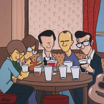 Pete McKee: Legends In Their Lunchtime (Made In Sheffield)